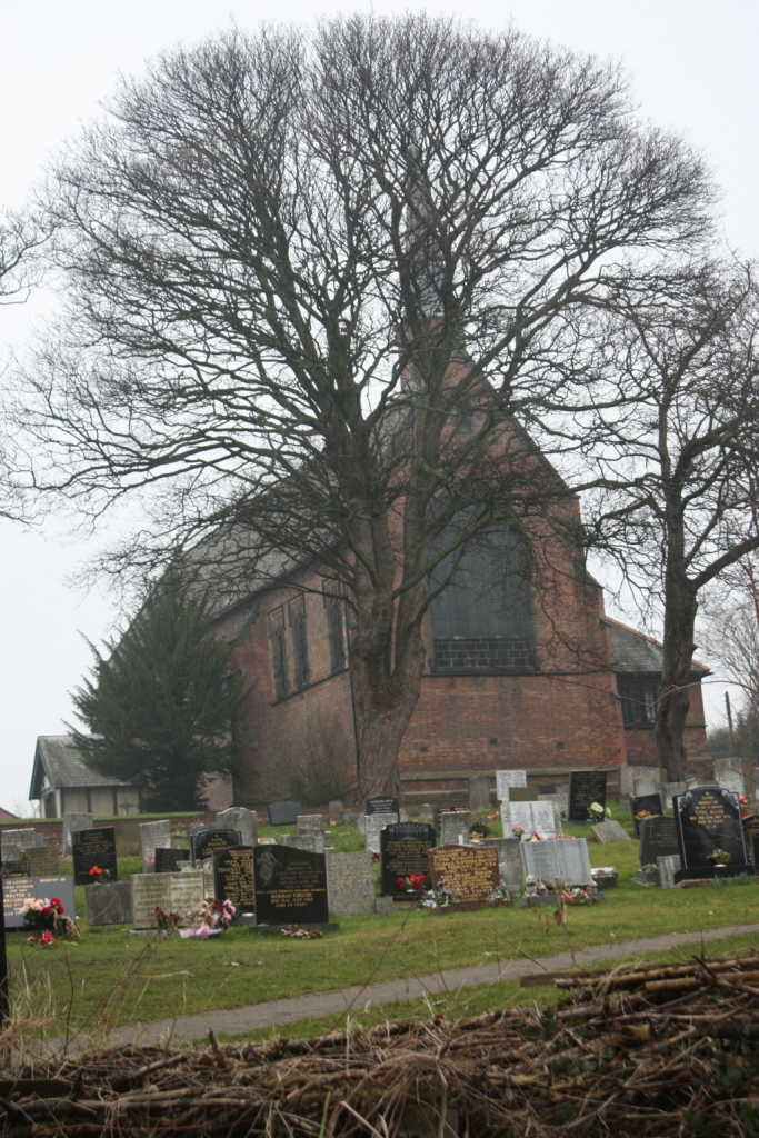 St george's Church, churchyard in Washington, Tyne and Wear is open for burials. Parish of Fatfield.